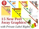 15 New Peel Away Website Graphics!