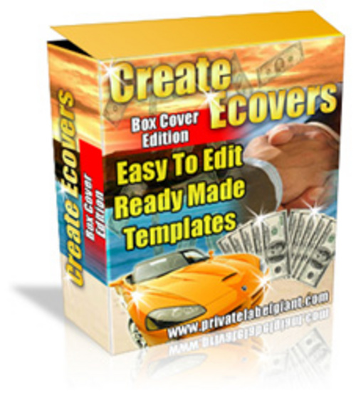 Product picture Create Professional 3d eCovers - Software Box Edition