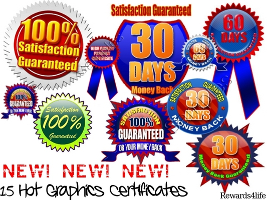 Product picture NEW! 15 Hot Graphics Certificates
